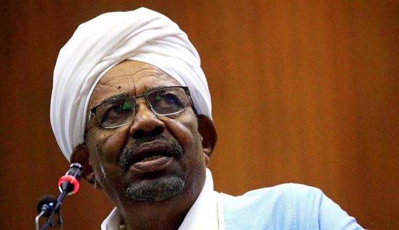 Pictured: Former Omar al-Bashir