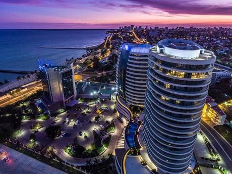 Maputo capital city of Mozambique