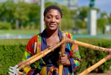 Photo of Meet the Woman Making Bamboo Bikes in Ghana