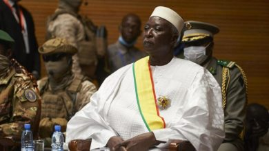 Photo of Retired colonel sworn in as Mali interim president after coup