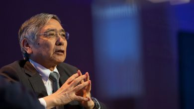 Photo of Bank of Japan head warns of climate threat to global economy