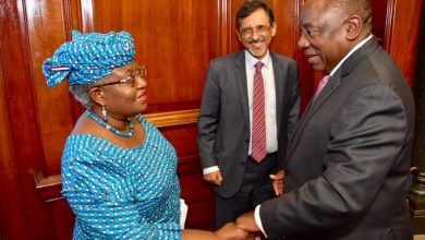 Photo of Africa Must  Rally  Behind  Nigeria Candidate For WTO Top spot: SA President says
