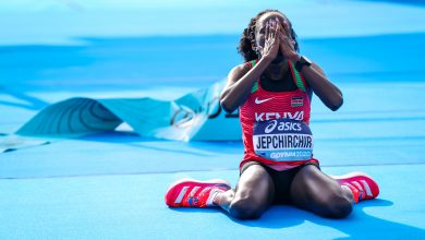 Photo of Kenya's Jepchirchir sets world mark in women's half marathon
