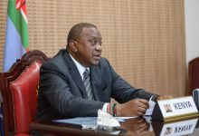 "Photo of Africans ""know and understand what development ought to look like,"" says President Uhuru Kenyatta"