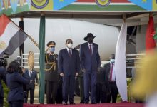 Photo of Egypt leader in 1st South Sudan visit talks Nile, stability