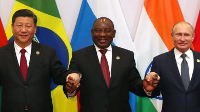 Photo of S.African president calls for unity, cooperation at BRICS summit