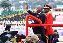 Photo of Tanzania's leader sworn in for 2nd term after Landslide Victory